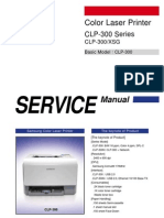 Samsung Clp 300 - Service Manual