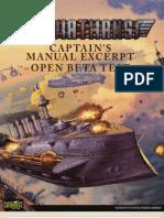 Captains Manual Excerpt Beta Test