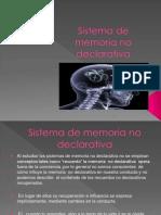 Sistema de Memoria No Declarativa