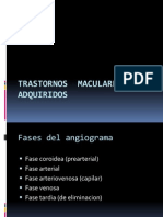 Trastornos Maculares Adquiridos Completa