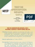 TEST DE APERCEPCIÓN INFANTIL CAT-A