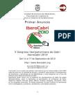 1er Anuncio IberoCabri2010