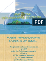 The Physiographic Features of India