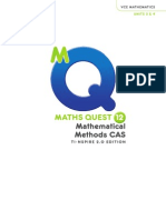Maths Quest Methods year 12