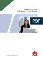 Huawei ME60 MSCG Series Brochure