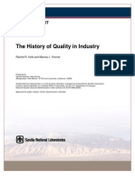 The History of Quality in Industry