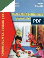 Matematica Distractiva Pentru Ciclul Primar