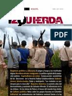 Revista Izquierda No. 36, agosto de 2013