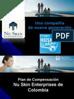 Plan de  Compensacion nuskin Colombia