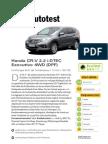 Honda Cr v 2 2 i Dtec Executive 4wd Dpf