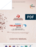 Event- InDIA TELECOM 2012- Exhibitor-manual