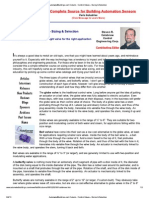 Control Valve Sizing and Selection