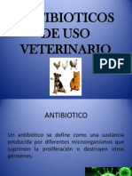 ANTIBIOTICOS VETERINARIOS