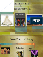 Postmodernism and Deconstructivism