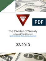 Dividend Weekly 32_2013