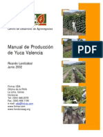 Manual de producción de yuca