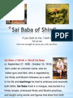 Saint of Shirdi