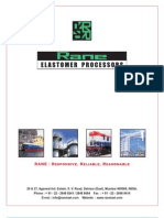 Rane Elastomer Processors Catalogue
