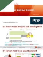Tnc2012 Slides HuaweiGreenCampusSolution 2Mar 2012
