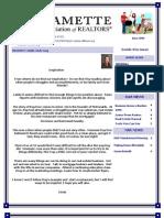 Willamette Association of Realtors June 2009 Newsletter