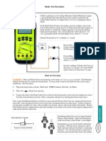 Diode Test Procedure