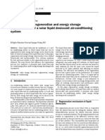 Investigation on Regeneration and Energy Storage