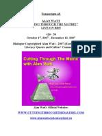 2007.10.17 - 2007.12.12 - #26-#50. Alan Watt CTTM Transcripts