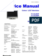 Panasonic TX 26le60 Service Manual