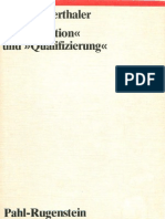 Robert Vierthaler, Qualifikation Und Qualifizierung