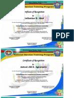 NSTP Certificate Final