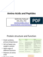 Amino Acids and Peptides Slides