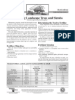 Fertilizing Landscape Trees and Shrubs - Tutorial