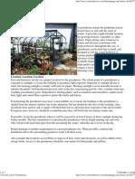 Greenhouses - Basic Information