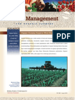 Organic - Weed Management for Organic Farmers