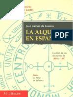 La Alquimia en España - José Ramón de Luanco