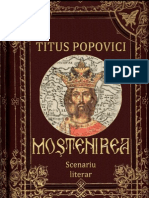 Titus Popovici - Mostenirea