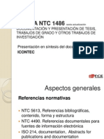 NORMA NTC 1486 sexta actualizaci+¦n