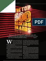 Top 500 Banking Brands 2013