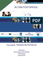 Formacao DBA PostgreSQL Evolucao S1