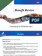 2012 Benefits Brown Bag