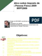 imposto de renda 2009