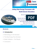 Modelling Ship Energy Processes With Multi-Domain Simulation