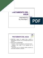 TRATAMIENTO DEL AGUA RESIDUALES
