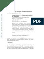 TraceTrace formulas for stochastic evolution operators