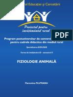 fiziologie animală