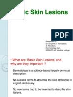 Basic Skin Lesions