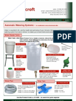Wp Water Systems Flyer