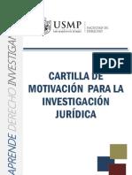 Cartilla Motivacion a La Investigacion