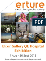 AWPS Elixir Gallery, Queen Elizabeth Exhibition 2013 Catalogue