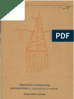 Princípios e Parâmetros - EVC